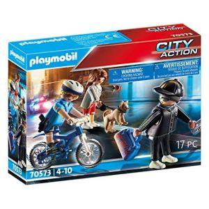 Playmobil Policière et voleur City Action 70573