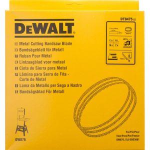Dewalt Métaux non ferreux - acier fin/Largeur:6 le / Longueur:2215 mm / Epaisseur:0.6 mm / Pas:1.4 mm / Profondeur de coupe:10 / Pour:DW876 / Quantité par emballage:1 / Quantité minimale de commande:1 DT8475
