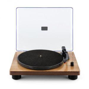 Auna TT Classic - Platine tourne-disque rétro USB