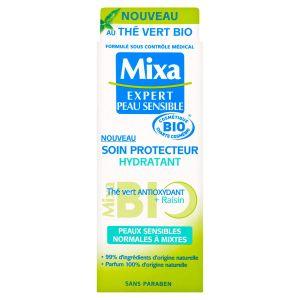 Mixa Bio - Soin protecteur hydratant - Raison + Thé vert antioxydant