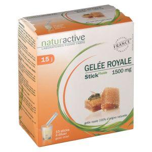 Naturactive Gelée royale 1500 mg - 15 sachets de 10 ml