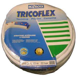 Alfaflex Tricoflex 00110300 Tuyau d'arrosage Yachting pour bateaux et piscines 12,5 mm x 15 m