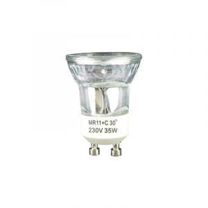 Réflecteur halogène 230V 20W GU10 35mm