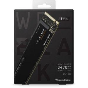 Western Digital Disque SSD interne Black Interne 1To SN750 + Dissipateur
