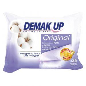 Demak Up Original - Lingettes démaquillantes Tous types de peaux - 4 Paquets