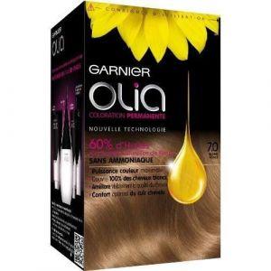 Garnier Olia 7.0 Blond Foncé - Coloration permanente à l'huile sans ammoniaque