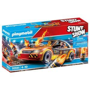Playmobil Stuntshow voiture crash 70551