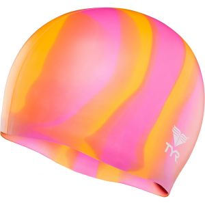 TYR Silicone Bonnet de bain orange/rose Bonnets de bain