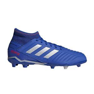 Adidas Chaussures de foot enfant PREDATOR 19.3 FG J SCARPINI BLU bleu - Taille 28,29,31,32,34,35,28,30