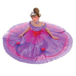 Caritan Déguisement Princesse Bal des roses (5-7 ans)