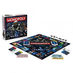Winning Moves Monopoly Halo Édition collector