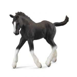 Collecta 88583 - Figurine cheval Poulain Shire Horse