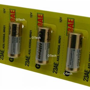 GP Pack de 100 piles modele 23A (8LR50)
