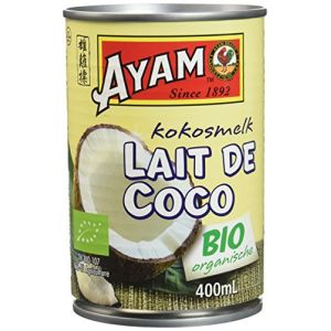 Ayam Lait de coco bio - La boite de 400ml