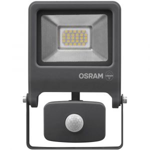 Osram Projecteur Extérieur LED ENDURA FLOOD - Détecteur de Mouvement - Etanche IP44 - 50W - 1500 lumen - Orientable 180° - Blanc froid 4000K - Gris Anthracite