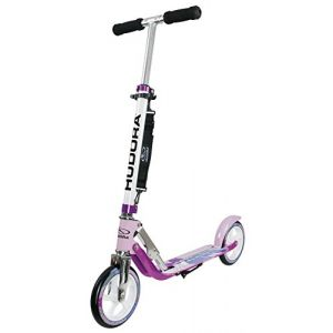 Image de Hudora Big Wheel 205 Adultes Chrome, Lilas, Blanc, Trottinette