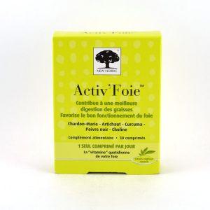 New Nordic Activ'Foie - 30 comprimés