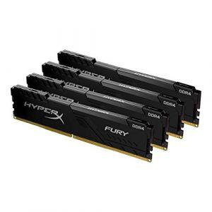 Kingston HyperX Fury 128 Go (4 x 32 Go) DDR4 3466 MHz CL17