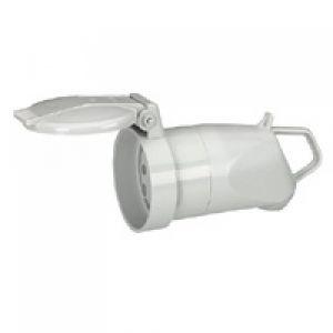 Legrand 055665 - Prolongateur plastique 3P+T 20A IP44