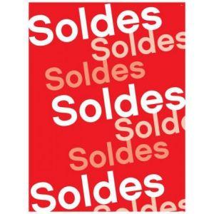 APLI 14038 - Affiche préimprimée Soldes , format 60x80 cm