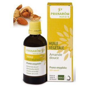 Pranarôm Huile végétale Vierge Amande douce - 50 ml