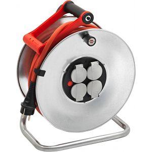 Brennenstuhl Enrouleur Silver-25 rouge 25m H07RN-F 3G2,5 1207941