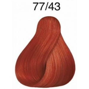 Wella Koleston Perfect Vibrant Reds 77.43 Blond cuivré doré intense
