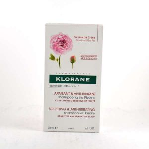 Klorane Shampoing Apaisant & Anti-Irritant à la Pivoine - 200 ml