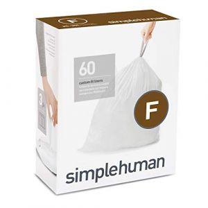 Simplehuman Sacs poubelle Pocket Liners 25 L Code F