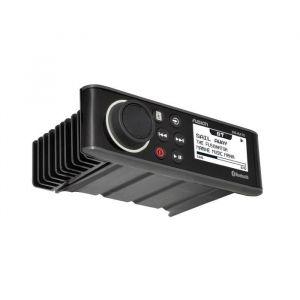 Fusion Autoradio Marine Étanche MS-RA70 Autoradio MS-RA70 A2DP Bluetooth Audio streaming Télécommande de l'application Link Tuner radio AM / FM Lecture USB MP3 Apple iAP2 et Android AOA Résistante à l'eau IPx7 Ecran LCD optique Co