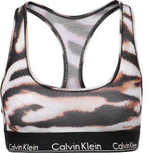 Calvin Klein Modern Cotton Bustier black zebra