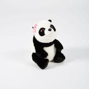 Soft Friends Panda avec nud rose 30 cm