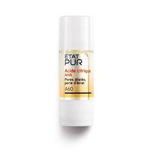 Etat Pur Acide citrique AHA Pores diltaés