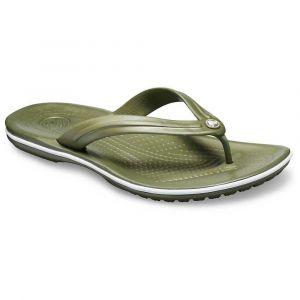 Crocs Crocband Flip, Tongs Mixte Adulte, Vert