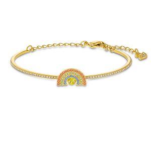 Swarovski Bracelet 5537493 - Bracelet Bracelet Métal or cristaux multicolore clair Femme