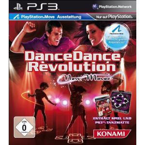 Dance Dance Revolution : New Moves + Tapis (PlayStation Move) [PS3]