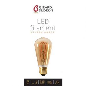 Vision-El Ampoule filaments LED torsadés 3W A60