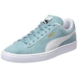 Puma Suede Classic chaussures turquoise blanc 43 EU