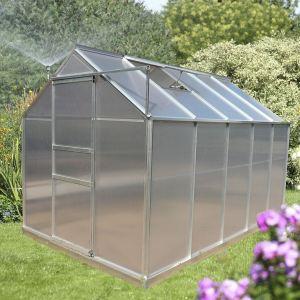 Image de Foresta SR 1931 - Serre de jardin en aluminium et polycarbonate 5,92 m²