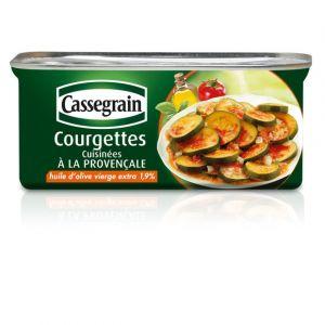 Cassegrain Courgettes cuisinées à la provençale - La boîte de 185g