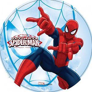 Disque azyme Spiderman 21 cm (modèle aléatoire)