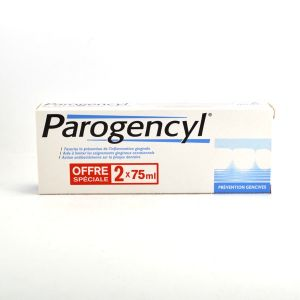 Parogencyl Dentrifrice prévention gencives 2x75ml