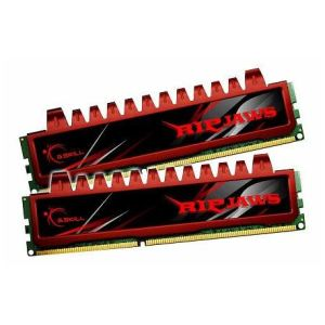 G.Skill F3-10666CL9D-4GBRL - Barrettes mémoire Ripjaws 2 x 2 Go DDR3 1333 MHz CL9 Dimm 240 broches