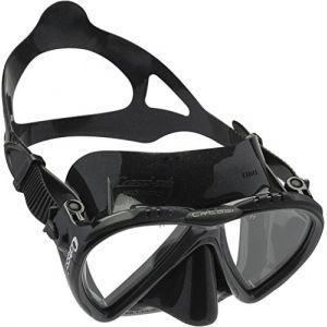 Cressi Lince Masque de Plongée Snorkeling Femme Noir