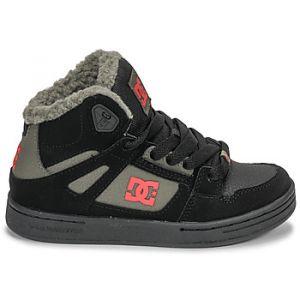 DC Shoes Baskets montantes enfant PURE HIGH-TOP WNT Noir - Taille 36,37,38,39,33,34,35
