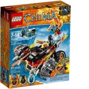 Lego 70222 - Legends of Chima : Le bulldozer Panthère