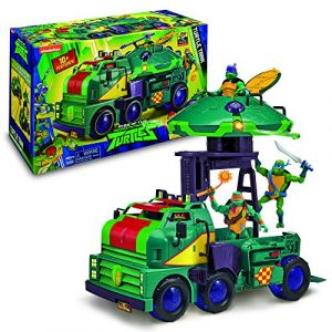 Giochi Preziosi Turtle Tank - Camion de combat des Tortues Ninja