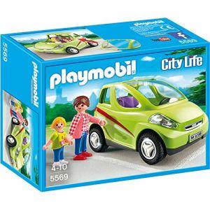 Playmobil 5569 City Life - Voiture de ville avec maman et enfant