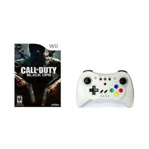 Pack Jeu Call of Duty avec manette de jeu Wii et Wii U sur Wii, Wii U