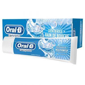 Oral-B Dentifrice Complete + Bain de Bouche Fraîcheur/Propreté 75 ml